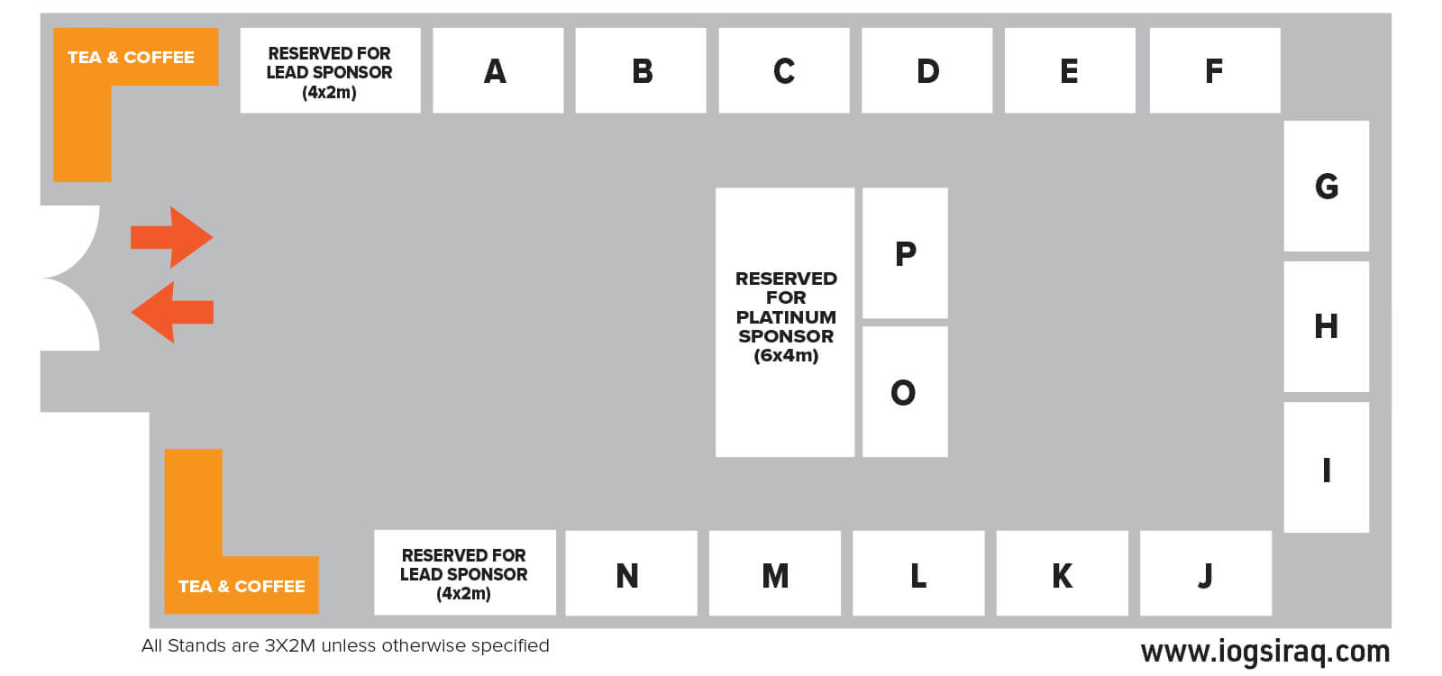 event floorplan