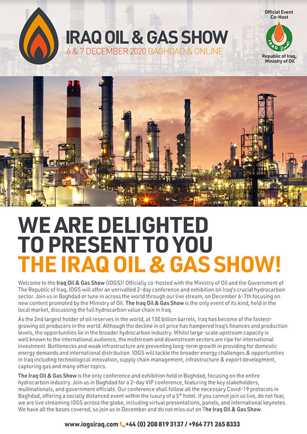 iraq oil and gas show event guide